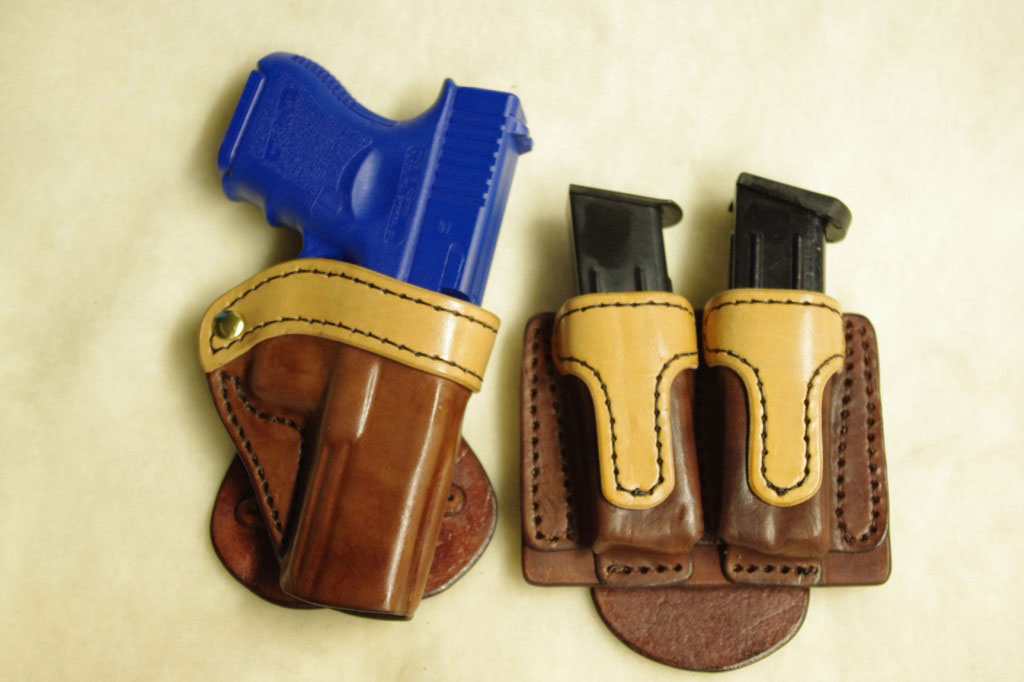 Rodney Shur paddle 1024x682 Standard Leather Paddle Holster