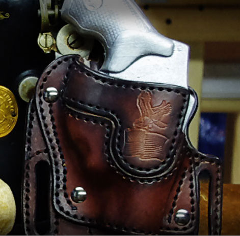 j Frame HiRide Revolver Holster The High Ride