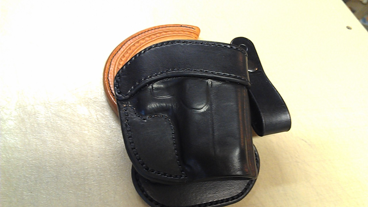 RH LEC Paddle Holster for Glock 26/27 (sold)