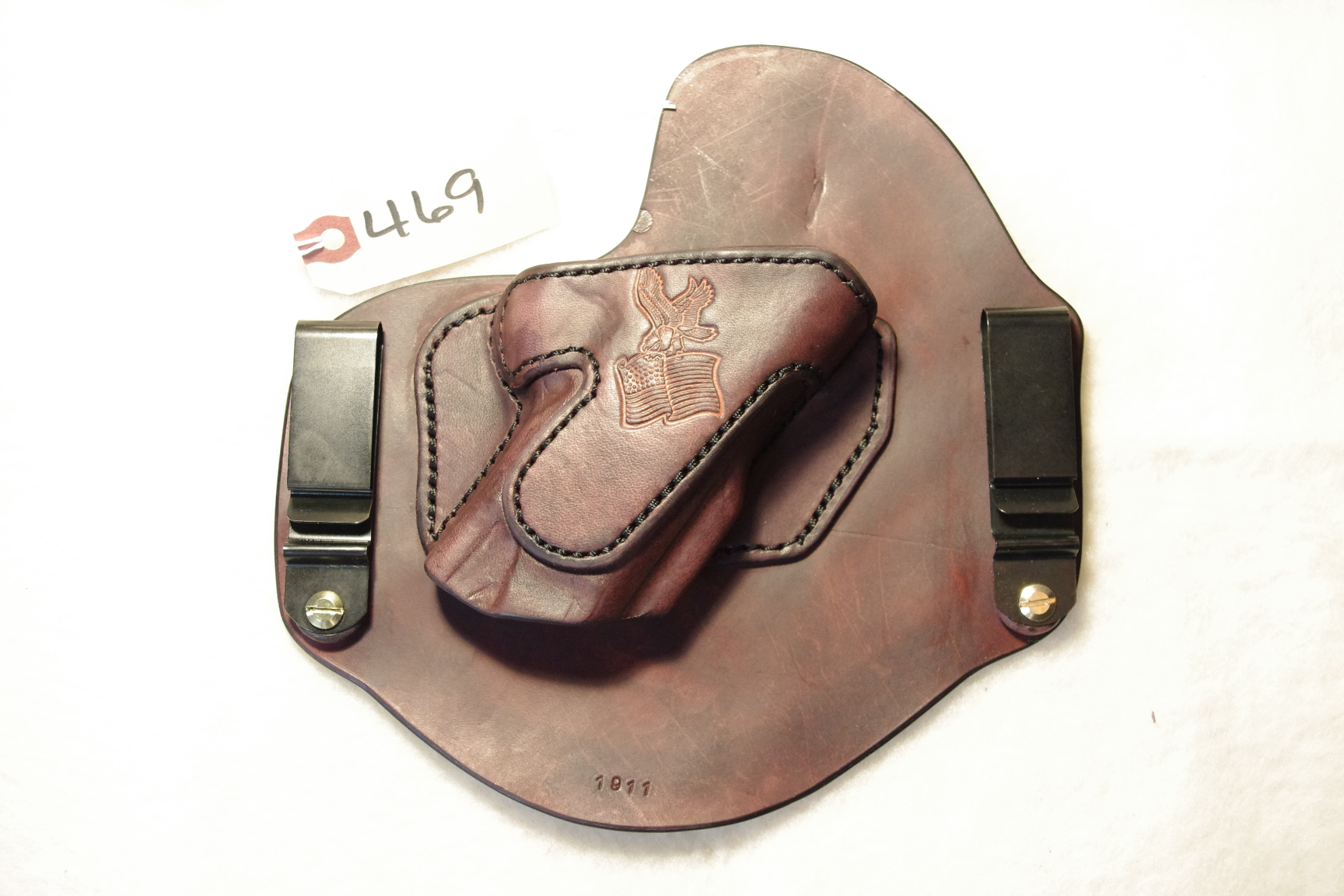 IWB Invisi-Tuck Extreme holster for a Kimber Warrior (sold)