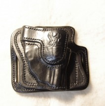 High Ride Holster for the Ruger LCR with a Lasermax (sold)