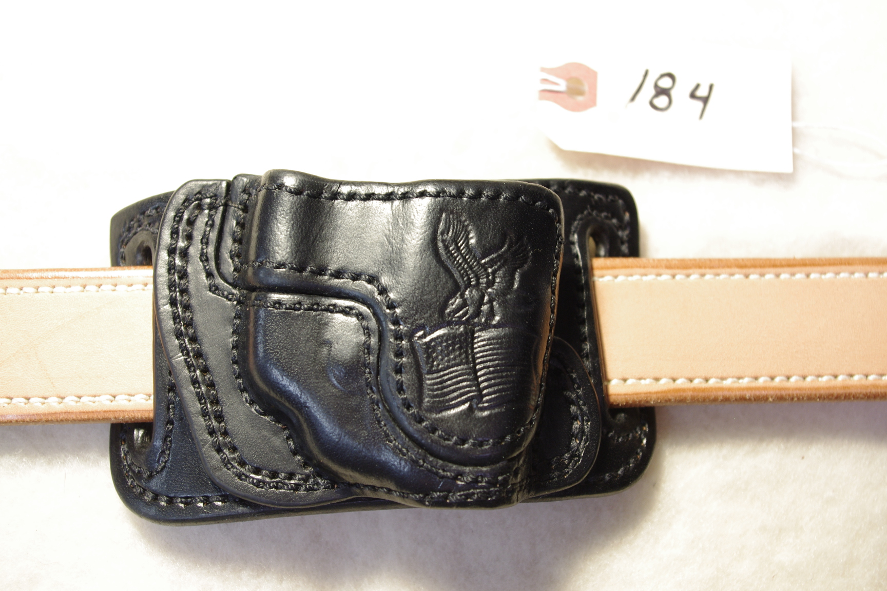 High Ride Holster for the Ruger LCP with a Lasermax  CF-LCP (sold)