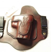 Invisi-Tuck holster for a Sig P220 Elite with rail, right-handed