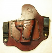 Custom Leather IWB Invisi-Tuck™ Holster for a Colt New Agent (Sold)