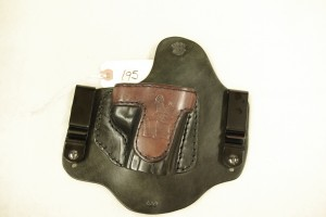 Invisi-Tuck Leather IWB holster for XDM