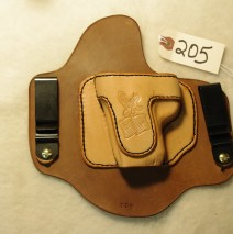 Left Hand Holster For a Springfield XDs (Sold)