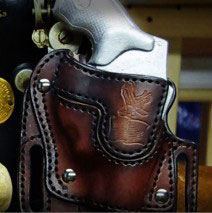 Properly designed Revolver Holster